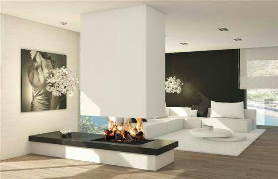 Chimeneas que calientan y decoran vivienda el pa s - Tipos de chimeneas modernas ...