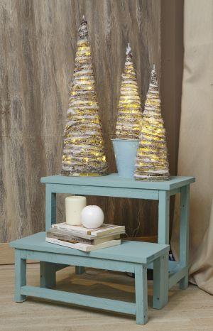 Los vinilos con rboles navide os y belenes compiten con - Luces de navidad leroy merlin ...