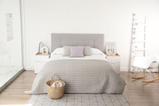 Cabeceros que conquistan las camas vivienda el pa s - Cabeceros de cama acolchados ...
