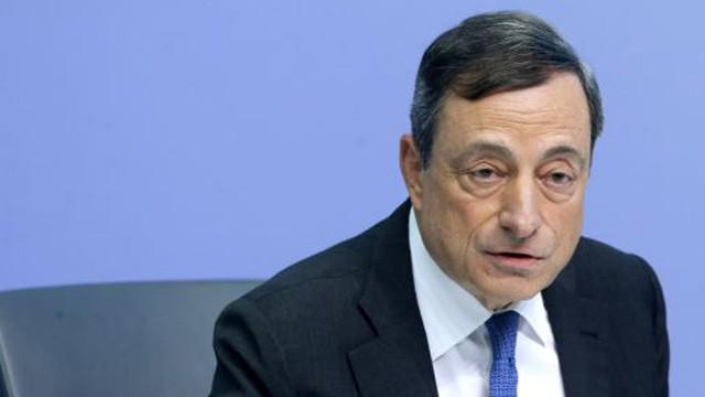 O presidente do BCE, Mario Draghi.
