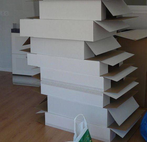 Flatlanders muebles de cart n para vender casas for Muebles de carton precios