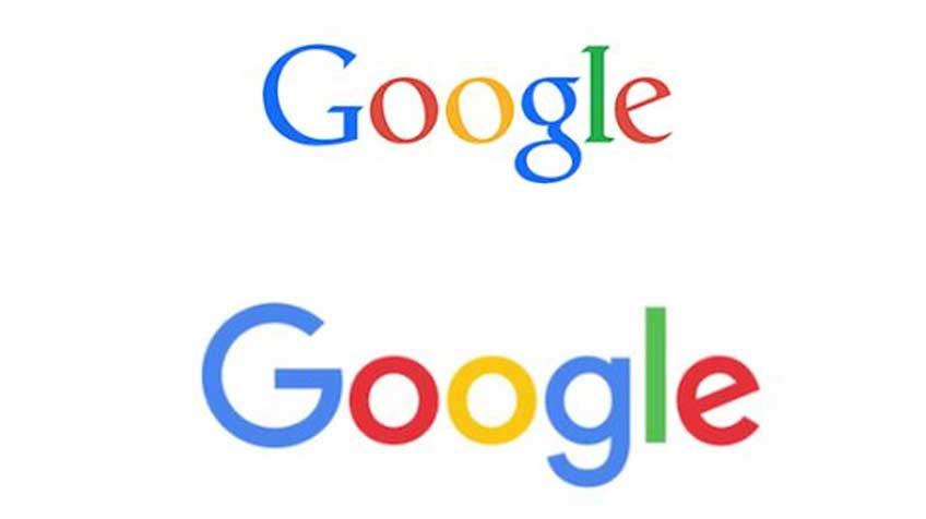 Acima, o logo atual e, abaixo, a versão renovada.