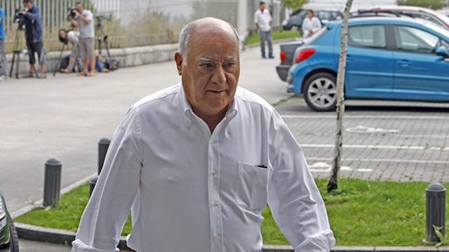 Amancio Ortega, em uma imagem de arquivo.