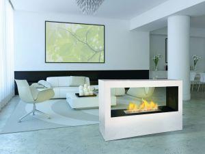 La llama que decora los pisos vivienda el pa s - Chimeneas de biocombustible ...
