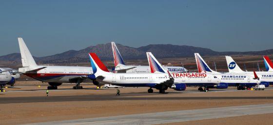 Aviones de los trucos de las compañías aéreas