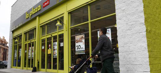 Día ha abierto en Madrid sus nuevos supermercados La Plaza.