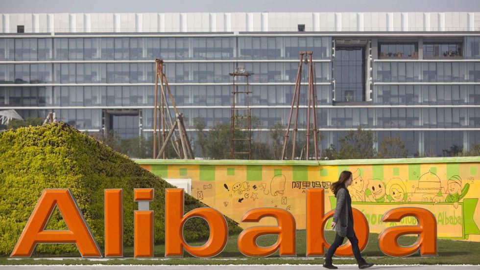 Sede do Alibaba em sua sede em Hangzhou.
