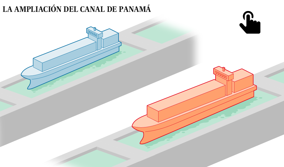 Las cifras asombrosas del nuevo Canal de Panamá