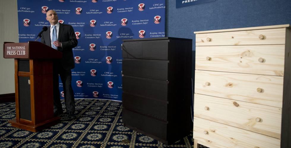 Ikea retira en ee uu la c moda malm tras la muerte de tres - Cajonera malm ikea ...