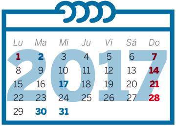 El calendario laboral de 2017 ya es oficial nueve festivos en toda espa a econom a el pa s - Pueblos de espana que ofrecen casa y trabajo 2017 ...