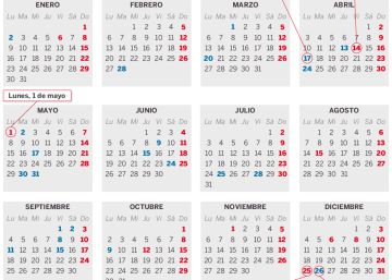 Calendario Bursatil 2020.Calendario Laboral El Pais