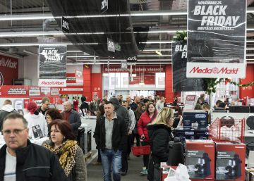 Amazon, El Corte Inglés, Zara, Media Markt y Apple, lo más buscado del Black Friday