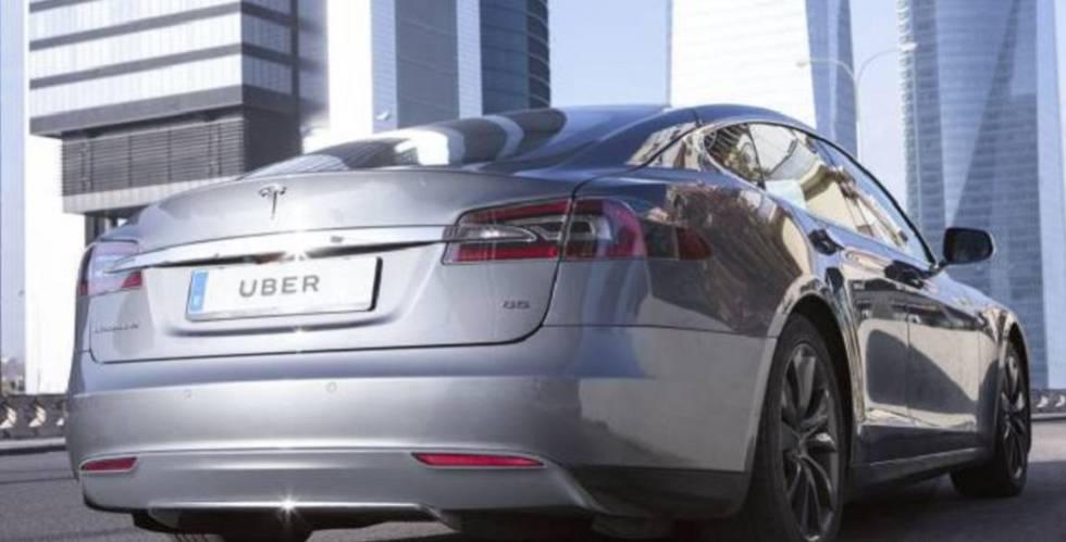 Uber Estrena En Madrid Su Servicio Con Coches Electricos De Lujo