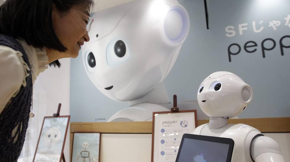 Resultado de imagen para robots sustituyen empleados