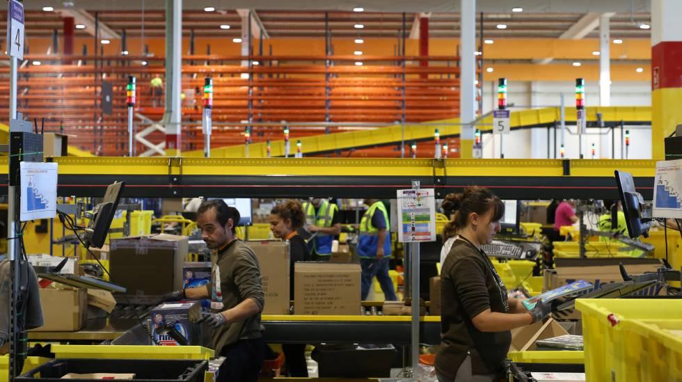 Amazon españa cifra negocios empleados