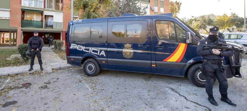 Imagen de archivo de un dispositivo policial.