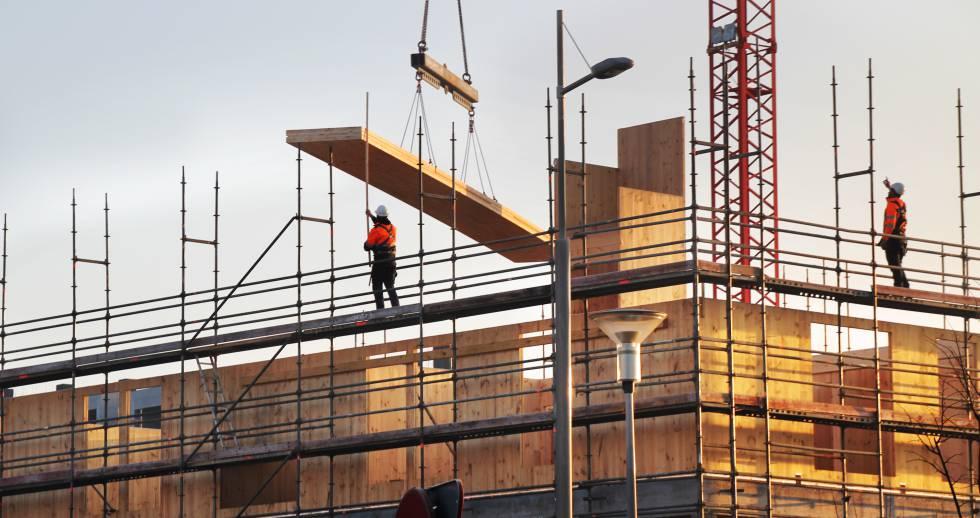 promocin de viviendas protegidas en hondarribia guipuzkoa con estructura de madera que realiza