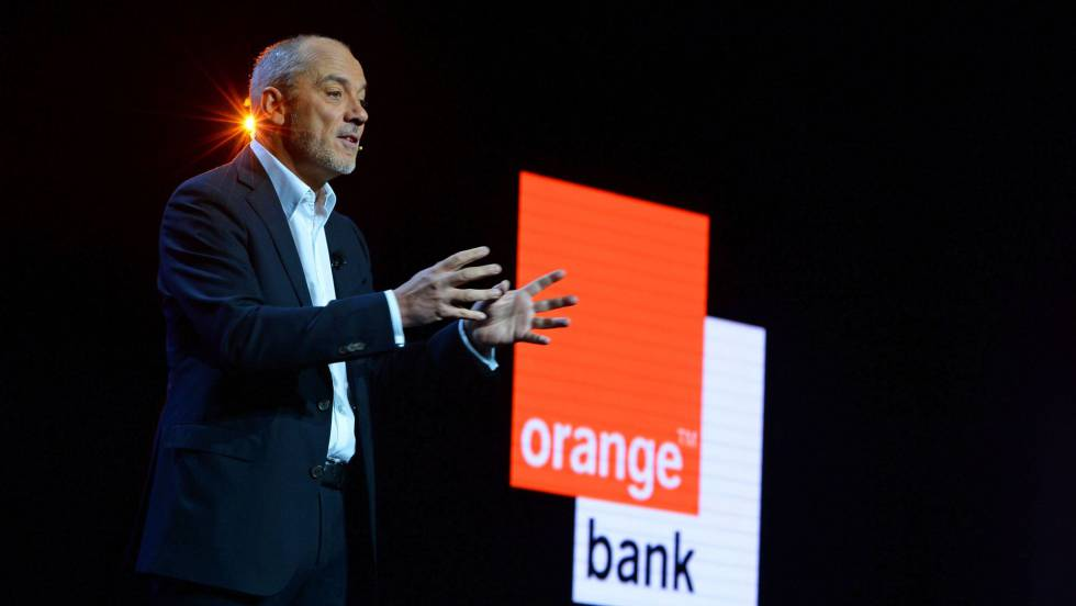 Stéphane Richard, en la presentación de Orange Bank.