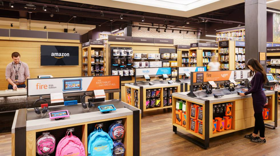 Amazon experimenta con su primera librer a f sica en nueva for Libreria amazon