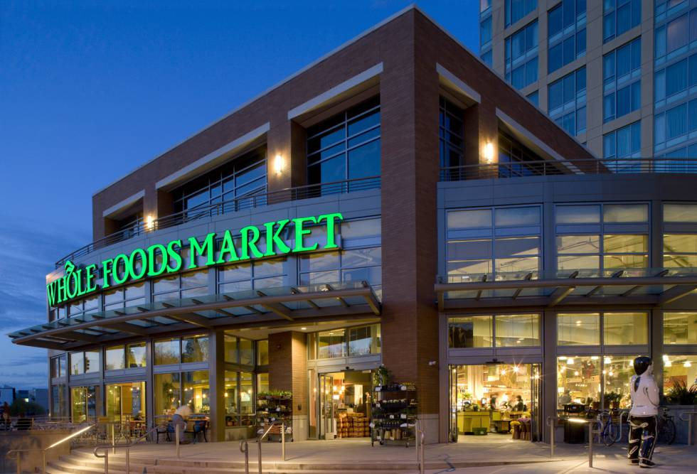 Un supermercado Whole Foods en Seattle (EE UU)