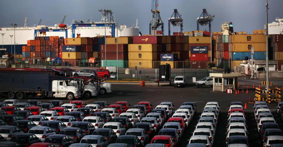 Imagen del puerto comercial de Veracruz (México), el pasado 3 de julio.