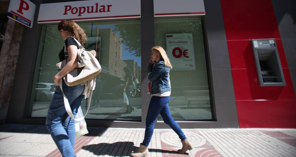 Sucursal del Banco Popular en Madrid
