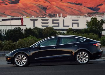 El Model 3 impulsa la acción de Tesla