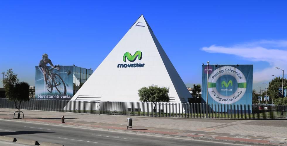 Sede de Movistar Colombia, en Bogotá.
