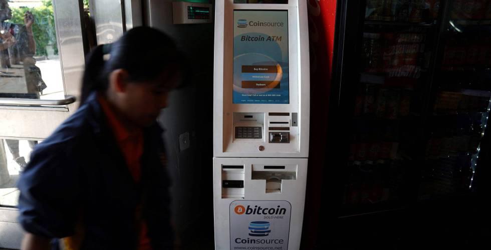 Un cajero de Bitcoin en Nueva York el pasado mes de junio.
