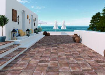 pavimentos construccin un suelo para vestir la terraza y el jardn