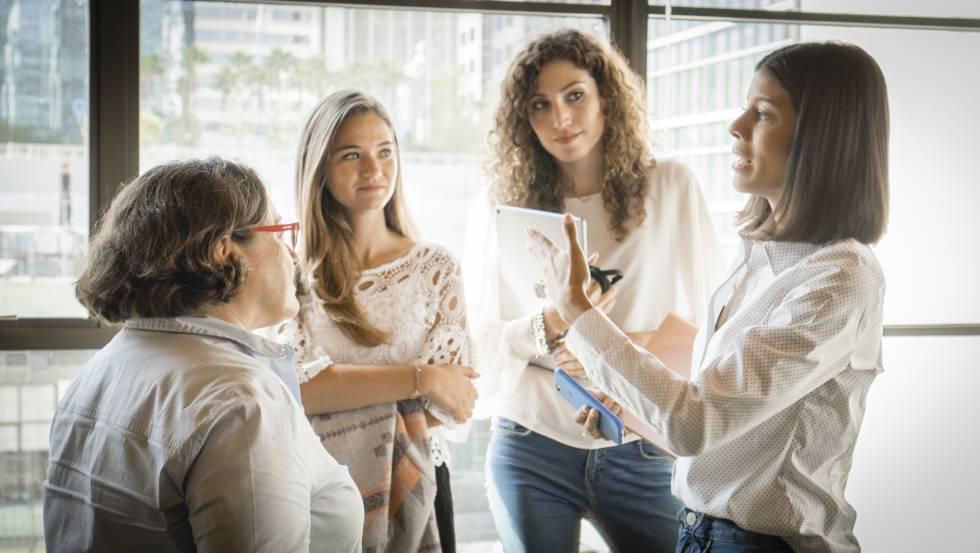 Isabel Arcones, Belén Cruz, Agustina Sartori y Paola Santana, empresarias o trabajadoras en Silicon Valley (Estados Unidos)