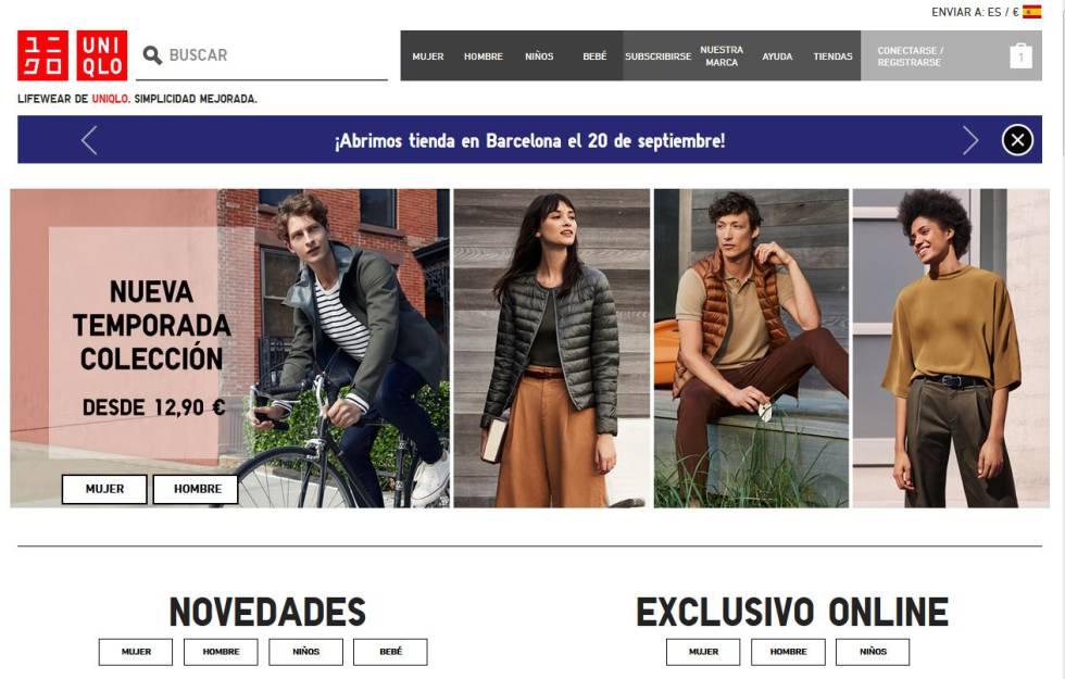 4e00683d95c92 Uniqlo lanza tienda online en España y ultima la apertura de su ...