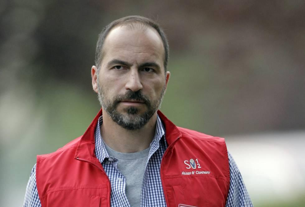 Dara Khosrowshahi, el escogido por Uber para ser su CEO, en una imagen de 2012.