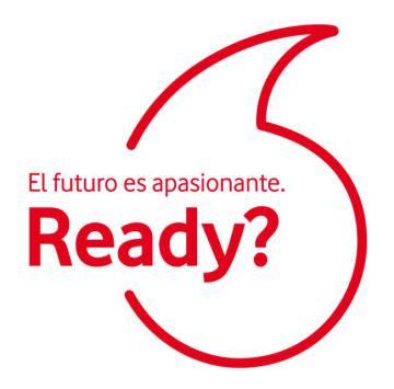 El nuevo lema de Vodafone en España.