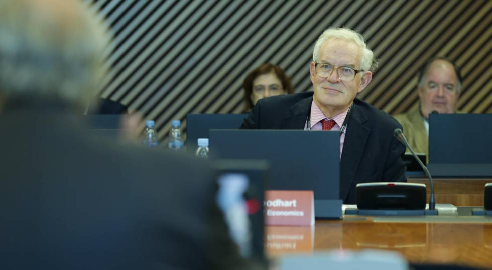 Charles Goodhart, profesor de la London School of Economics