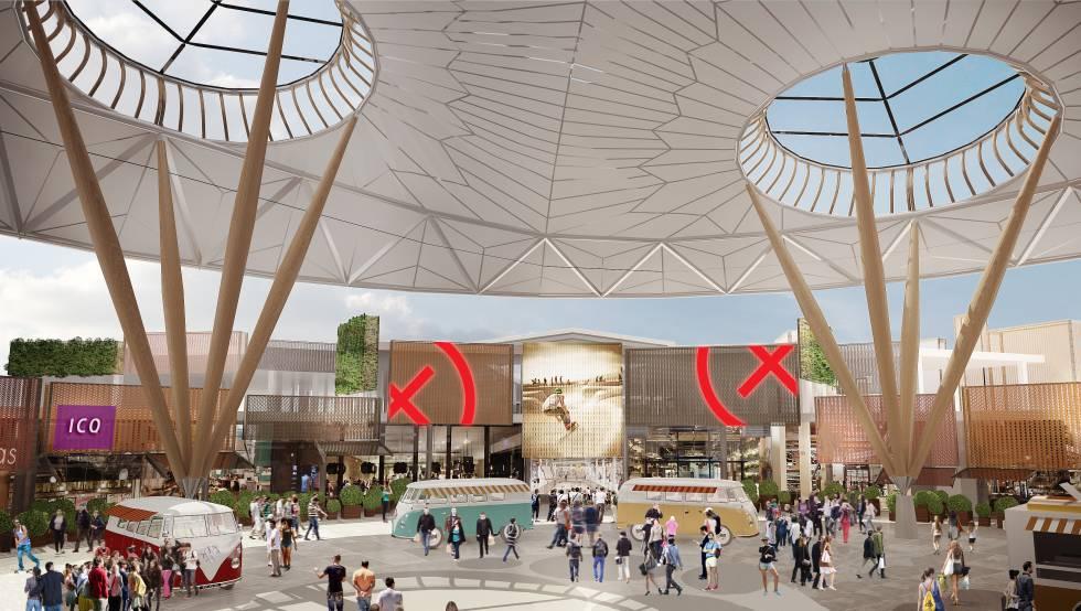 Merlin invertir 30 millones en un nuevo espacio comercial for Local en centro comercial madrid