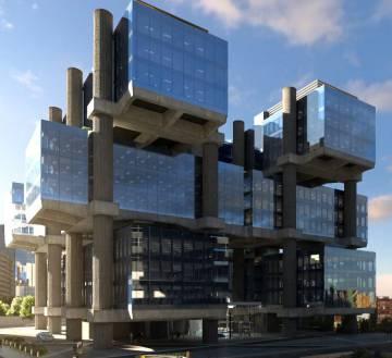 La inmobiliaria de carlos slim vende el edificio los cubos for Plaza los cubos madrid