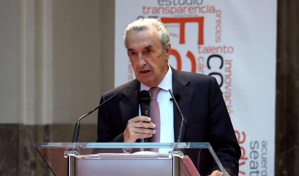 El presidente de la CNMC, José María Marín.