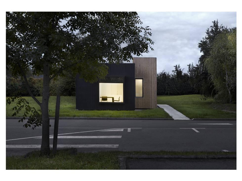 Casa modular del estudio [baragaño] de 39 metros.