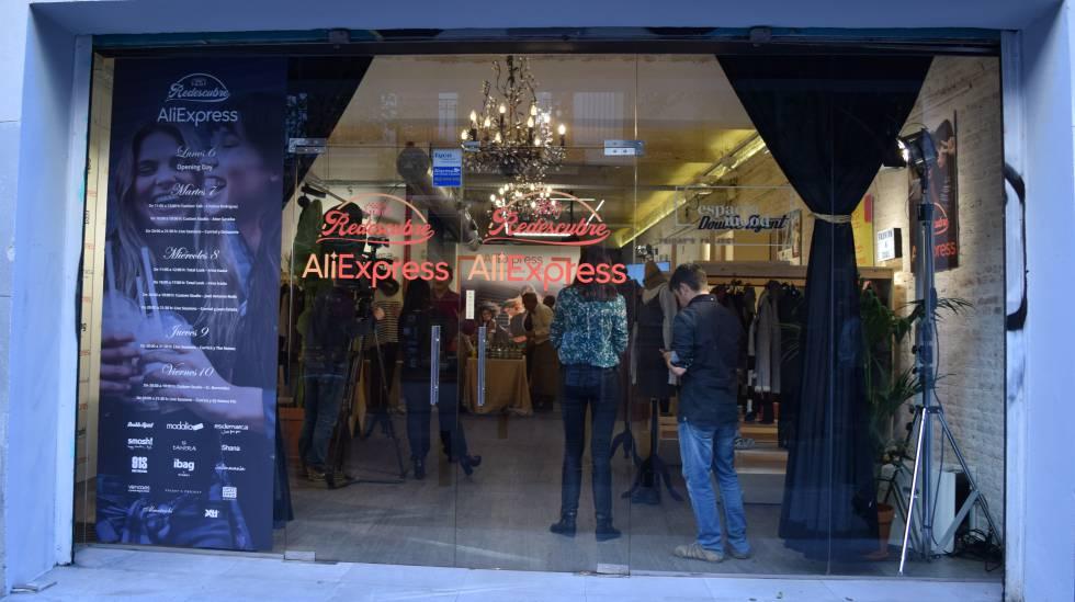 60a71afd3494 El gigante chino Alibaba abre una tienda efímera en Madrid para ...