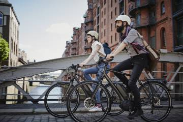 La empresa vende bicicletas de paseo, plegables y triciclos eléctricos.