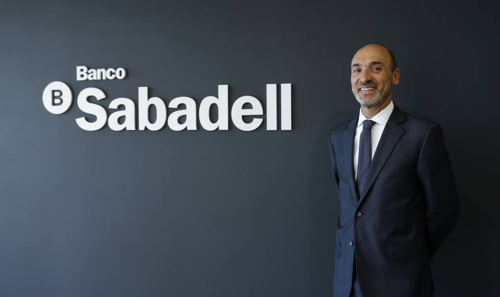 El director general del Banco Sabadell en México, Francesc Noguera.