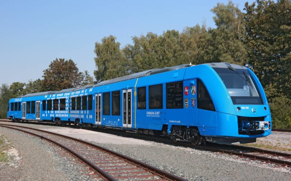 Tren Coradia iLint de Alstom.
