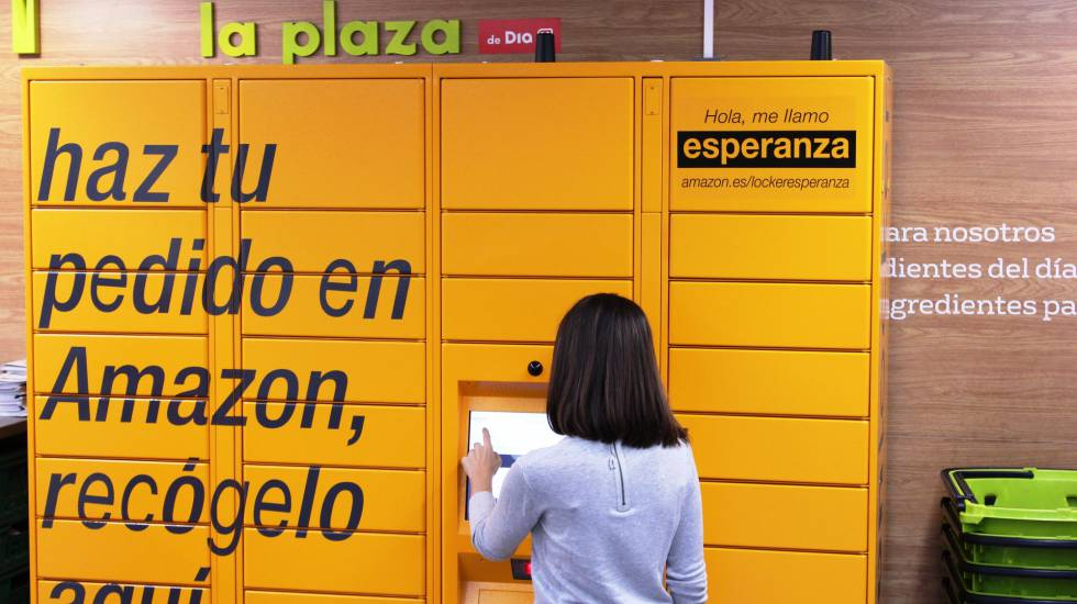 Puntos de recogida de amazon en madrid
