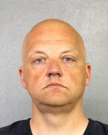 Oliver Schmidt, en el momento del arresto