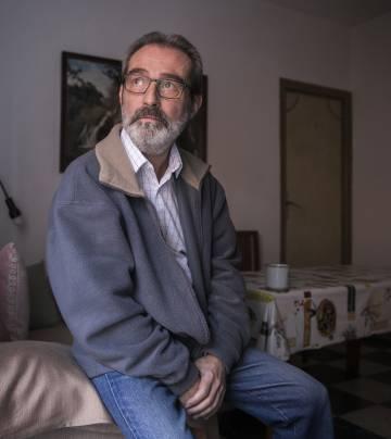 Enrique García, em seu domicílio de Madri.