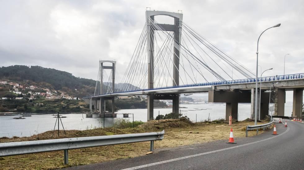 Inauguración de la ampliación del puente de Rande de la AP9.