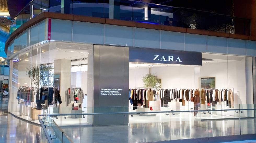 zara abre en londres una tienda f sica solo para comprar. Black Bedroom Furniture Sets. Home Design Ideas