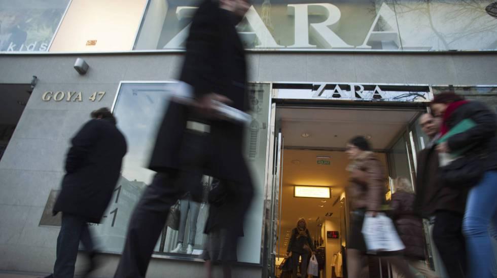 Tienda de Zara en la calle de Goya de Madrid.