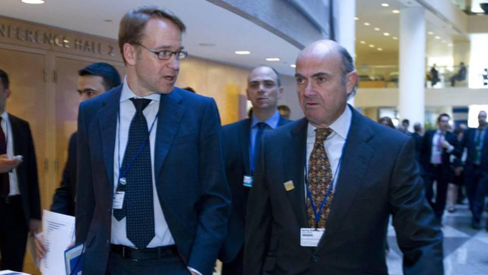 Alemania da un sí condicional a Guindos en el BCE y Francia mantiene reservas
